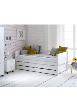 Nordic Daybed 1 White White
