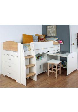 Urban Birch Midsleeper Cabin Bed 1